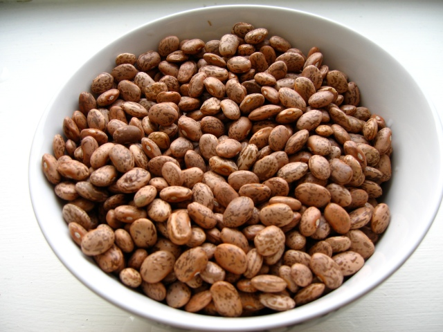 Four cups dry pinto beans