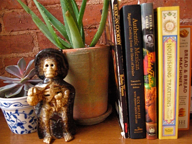 Mexican Cookery, Frida's Fiestas, Authentic Mexican, Nourishing Traditions and a Bread cookbook (for good measure)