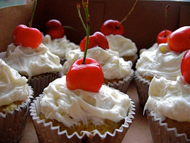 Tres Leches Cupcakes.