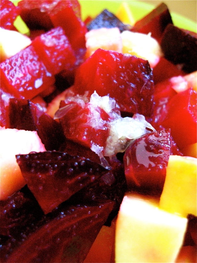 So are you still surprised to find a recipe for beets on a Mexican blog?