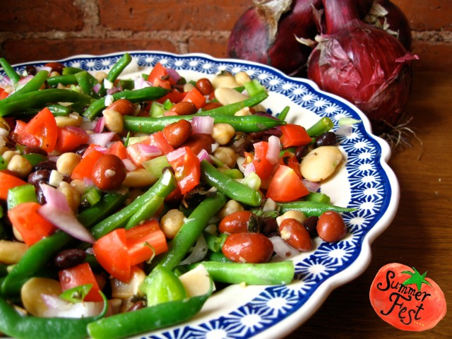 Five Bean Salad from Guanajuato